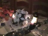 Décoration de la table de noel