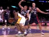 NBA Kobe Bryant finds Pau Gasol in the lane with this nifty