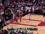 NBA Martell Webster throws back the Anthony Carter layup att
