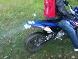 Burn en Yamaha DT 50 X