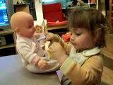 manon et bébé