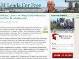 MlM Products - Which Are Best For Residual Income?