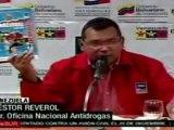 Venezuela lucha contra el narcotrafico en 2009