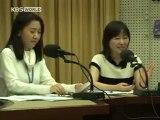 091225 super junior Leeteuk and Eunhyuk @ KBS WORLD Radio