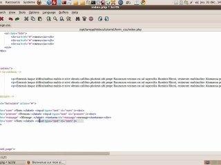 Visionnez les Cours Vidéo de Formulaire : aligner des champ et label - Cours CSS