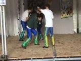 démonstration de savate boxe française - telethon 2009 1ère
