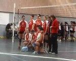 Volley féminin FFSU Nancy 1 - Nancy 2