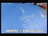 mythbuster coca mentos geyser
