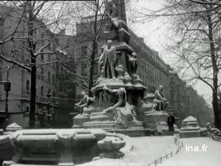 1955 : Lyon sous la neige