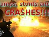 gta4.Jumps, stunts and... CRASHES!!! Vol1