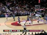 NBA J.J. Hickson comes up with a big block on Gerald Wallace