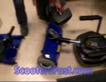 Mobility handicap scooter for the elderly old people scoote