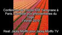 Conf.Presse de Kofi YAMGNANE à Paris par Jacky Moiffo 1