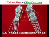 Miao minority silver jewelry superb-made process real ...