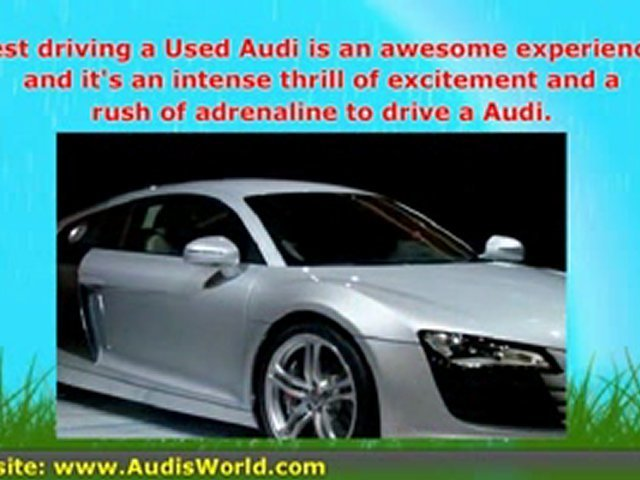 A Used Audi – Audi reviews