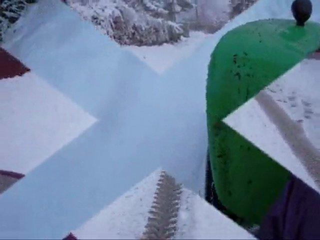 Sortie quad kymco sous la neige