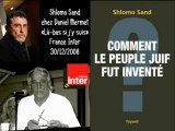 Peuple Juif Inventé-Shlomo Sand  France Inter 1/2