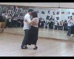 10 jaar tango voor ontbijt Brugge: demo Luc en Ann