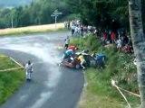 Rallye sortie de route Peugeot 306