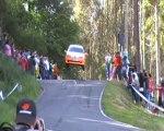 Rallye Naron 2008 .crash Peugeot 106