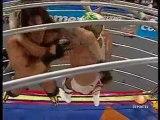 Dr. Wagner Jr. vs El Mesías in a dome cage [AAA HEAVY] PT3