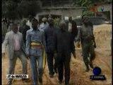 Raymond Mboulou visite les commissariats de police