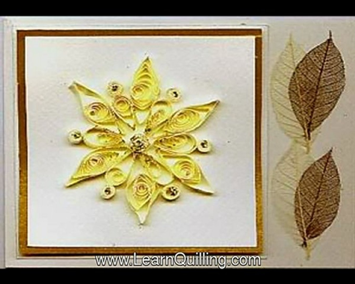 Learn Quilling Instructions for Beginners
