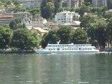 Evian, aux rives du lac Léman