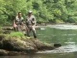 Stage pêche truite à la mouche et au toc dans les Pyrénées