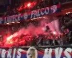 PSG OM 2002 Coupe de France - Virage Auteuil