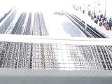 Passage d'un Um de TGV Duplex et Réseau à Aix TGV