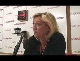 Marine Le Pen, l'invitée de Guillaume Durand
