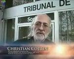 Message de Christian Cotten, plainte à Ivry (vaccin H1N1).