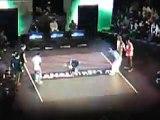 Break the floor hiphop show palais des festivals Cannes 2010