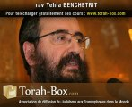 La Joie : un cours du Rav Benchetrit (Torah-Box.com)