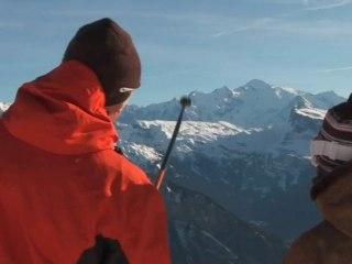 Portes du Soleil Ski Area Winter Trailer, Ski in the Alps