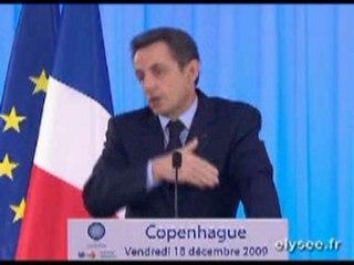 Décryptage discours de Nicolas Sarkozy à Copenhague