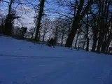 nature quad rando  sur la neige