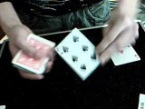 carte close up tours de magie