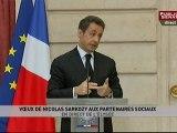 Voeux de Nicolas Sarkozy aux partenaires sociaux