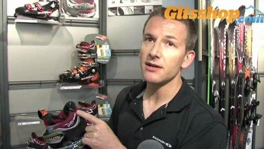 Mission gamme Vidéo ski Chaussures SALOMON 2010 hiver de