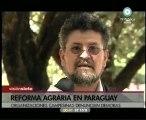 Fer Lugo y la situación de la reforma agraria en Paraguay
