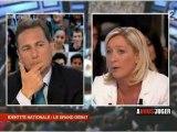 Débat Identité Nationale : Marine Le Pen vs Eric Besson