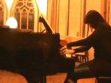 Prélude et fugue  en la  mineur de Bach