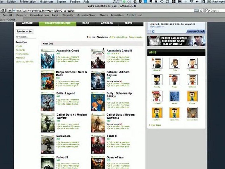 Gameblog - Communauté & Blogs, petite présentation