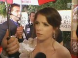 Anna Kendrick on the Golden Globes Red Carpet