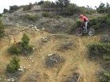 CIMG0888 moto trial,flo aux autruches