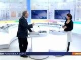 Jean-Marc Ayrault sur France3: déménagement du CHU