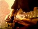 nhi-Heatbreak Hotel (whitney Houston guitar cover impro)