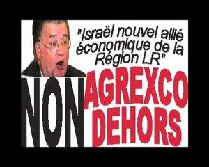 La Coalition contre Agrexco s'invite aux voeux de G. Frêche